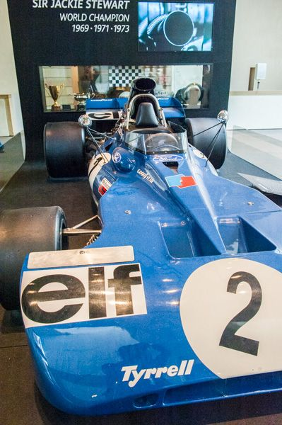 National Museum of Scotland photo, Sir Jackie Stewart's world championship racing car
