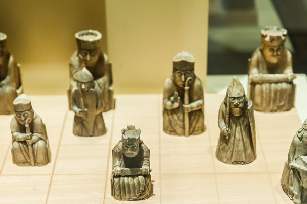National Museum of Scotland photo, The Lewis Chessmen