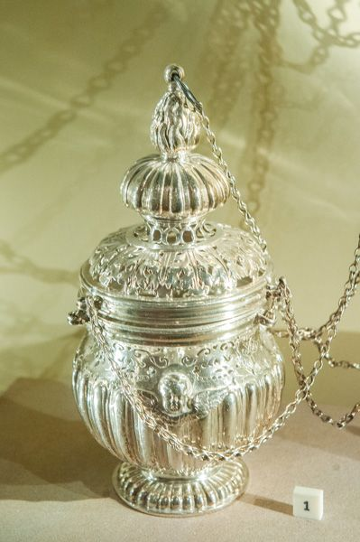 National Museum of Scotland photo, Holyrood Silver incense censer