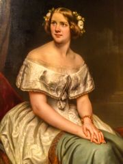 National Portrait Gallery, Jenny Lind, by Eduard Magnus, 1861