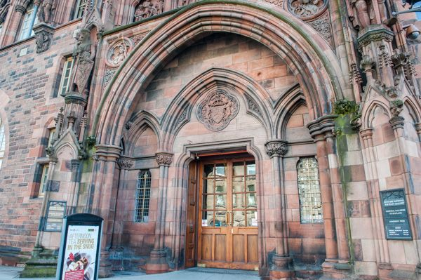 Scottish National Portrait Gallery photo, The gallery entrance on Queen Street