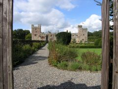 Naworth Castle from the front gates (c) Andrew Tryon