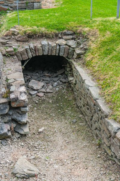 Neath Abbey photo, Medieval drain system revealed