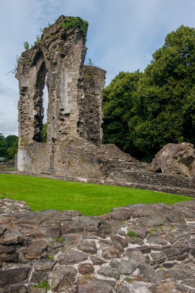 Neath Abbey photo, Ruins of the abbey church