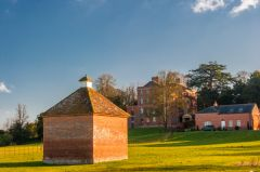 The dovecote and Netheravon House