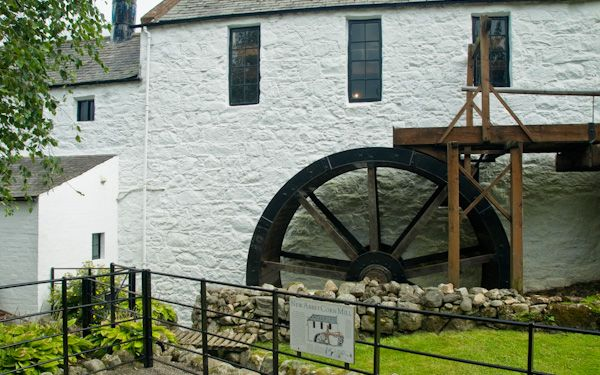 New Abbey Corn Mill photo, The mill wheel