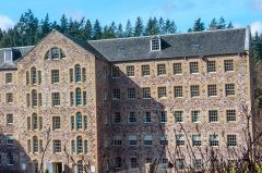 New Lanark World Heritage Site, Mill 1 (now a hotel)