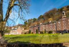 New Lanark World Heritage Site, Robert Owen's Garden