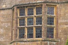 An oriel window