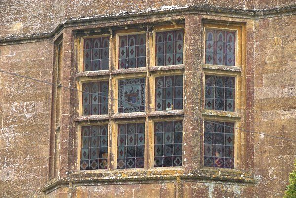 Newark Park photo, An oriel window