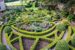 Old Manor, Looking down on the knot garden