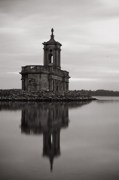 Normanton Church Museum photo, Black and White view