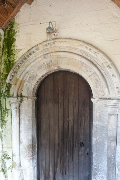 North Grimston, St Nicholas Church photo, South doorway