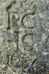 North Hinksey Conduit House, 1634 graffitti