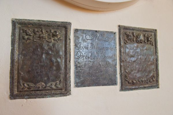 North Leigh, St Mary's Church photo, Musgrave coffin plates
