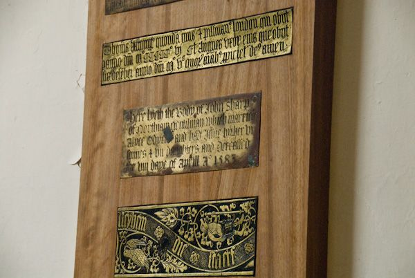 Northiam, St Mary photo, Medieval brasses