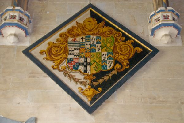 Northiam, St Mary photo, Funerary hatchment