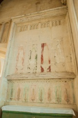 South aisle wall painting