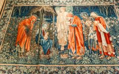 Norwich Castle, Arts and Crafts tapestry