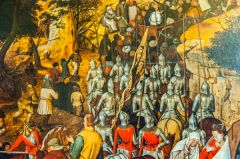 The Procession to Calvary by Pieter Brueghel the younger, 1602