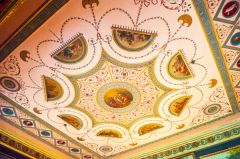 Robert Adam ceiling, Tapestry Room