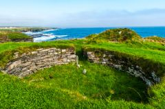 The central broch opening