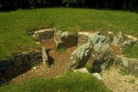 Nympsfield Long Barrow, Internal burial chambers