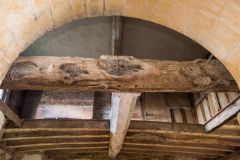 First floor timbers above the chancel arch