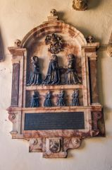 Richard Nailor wall monument (1616)