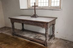The 17th century communion table