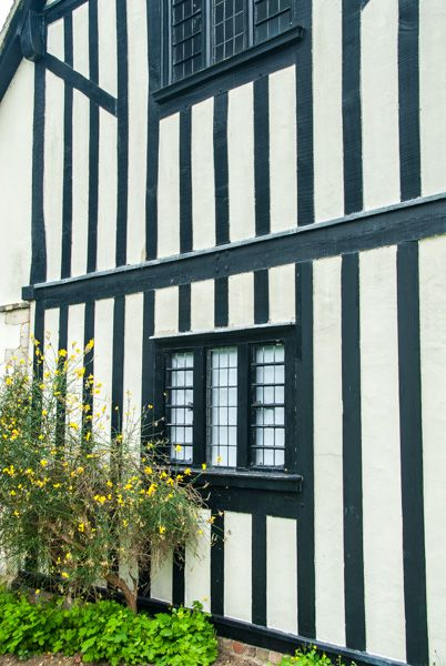 Oliver Cromwell's House photo, The gable end of the house