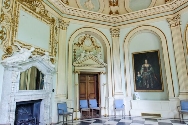 Orleans House Gallery photo, The Octagon interior
