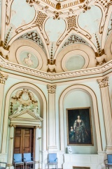 Ornate Octagon Room interiors