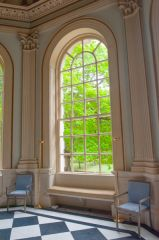 Neoclassical window, Octagon Room