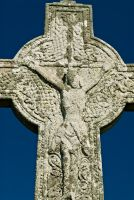Oronsay Cross west face