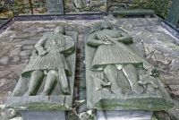 Late medieval grave slabs