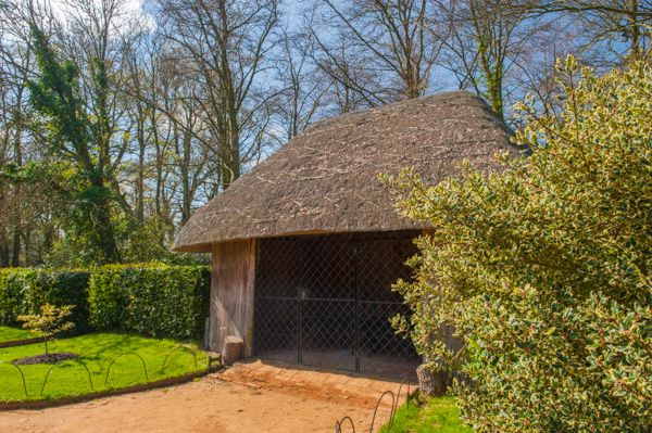 Osborne House photo, Thatched garden hut for the royal children
