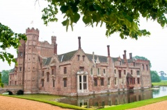 Oxburgh Hall and Moat