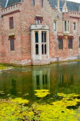 The moat and Elizabethan window