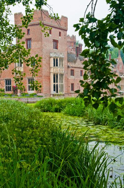 Oxburgh Hall photo, The hall and moat