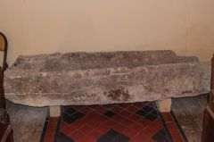 Late Saxon coffin, west nave