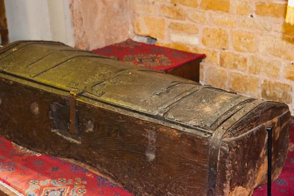 Packwood, St Giles Church photo, Parish chest