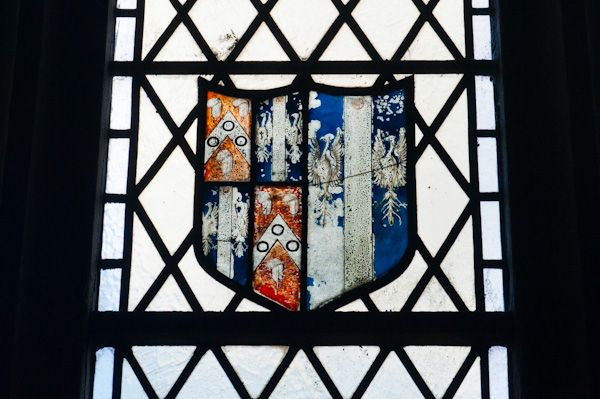 Packwood, St Giles Church photo, Medieval stained glass