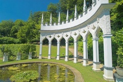 The Excedra at Painswick Rococo Gardens