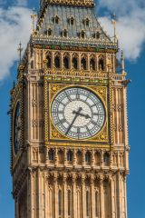 Big Ben, Another view of the clock face