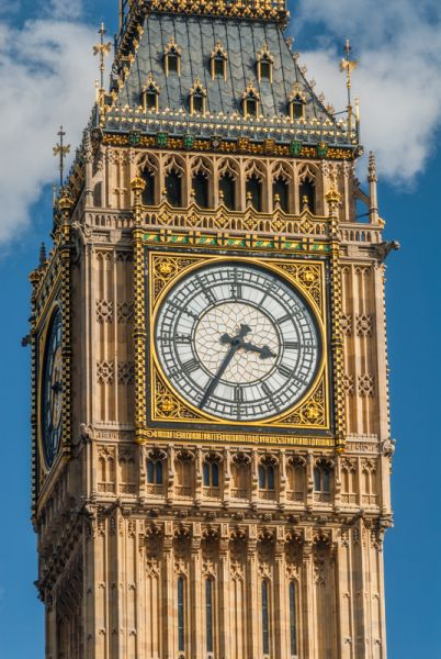 Big Ben photo, Another view of the clock face