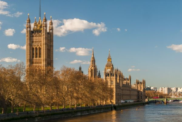 Palace of Westminster photo, The view from Lambeth Bridge