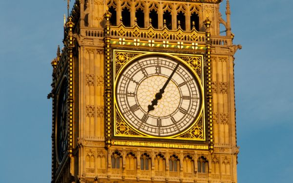 Palace of Westminster photo, Elizabeth Tower clock face