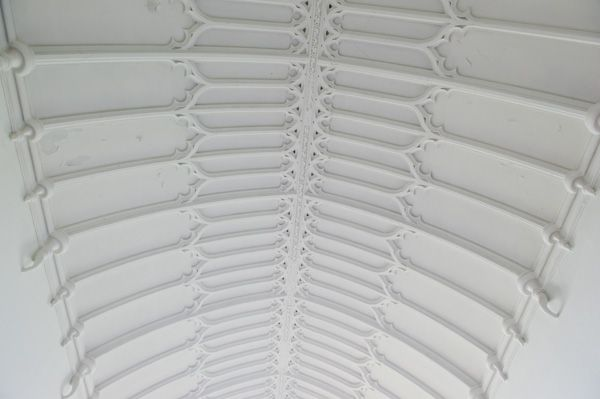 Parham, St Peter's Church photo, Unusual roof vaulting