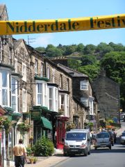 High Street during the Nidderdale Festival (c) Sue Jackson